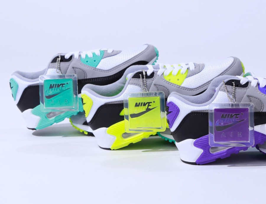 Nike Air Max 90 OG 'Particle Grey Hyper Turquoise' (30th Anniversary) (1-1)