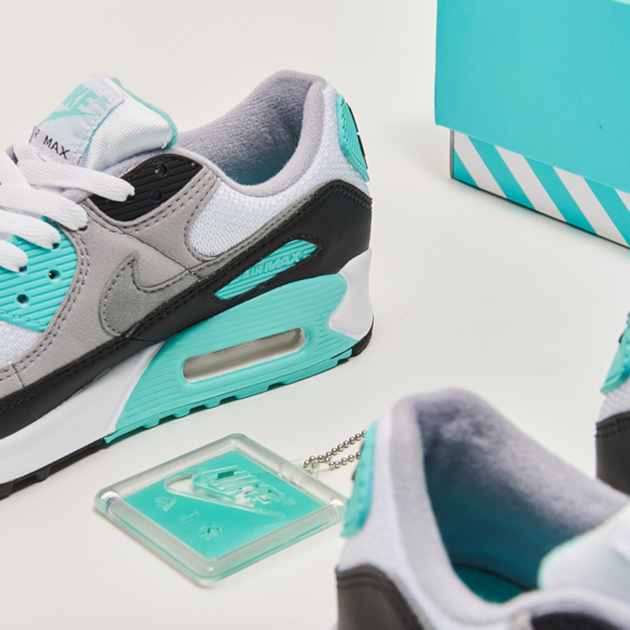 Nike Air Max 90 OG 'Particle Grey Hyper Turquoise' (30th Anniversary) (1)
