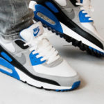 Nike Air Max 90 OG 'Hyper Royal' White Particle Grey Black
