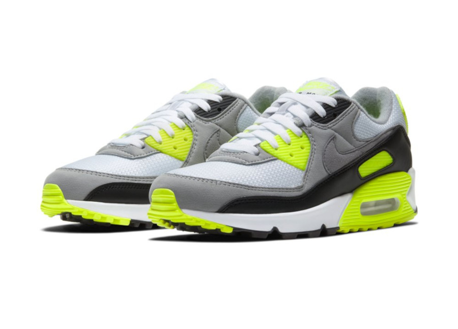 Nike Air Max 90 OG Volt Particle Grey 2020