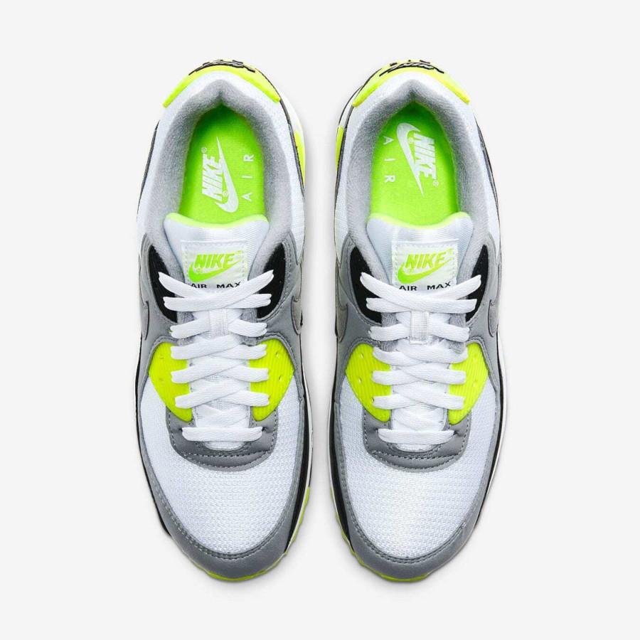 Nike Air Max 90 'Particle Grey Volt' (30th Anniversary) (2)