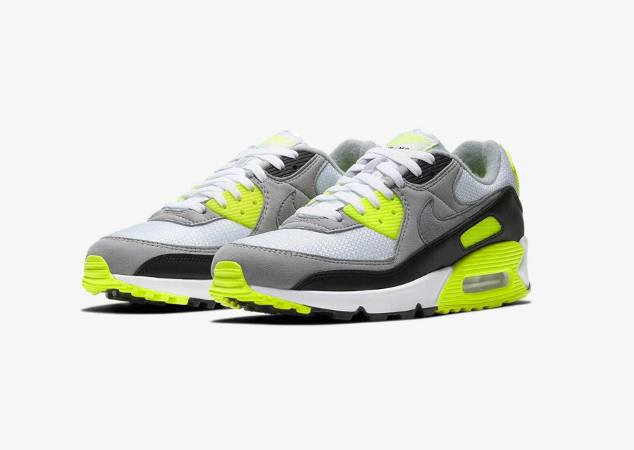 Nike Air Max 90 'Particle Grey Volt' (30th Anniversary) (3)