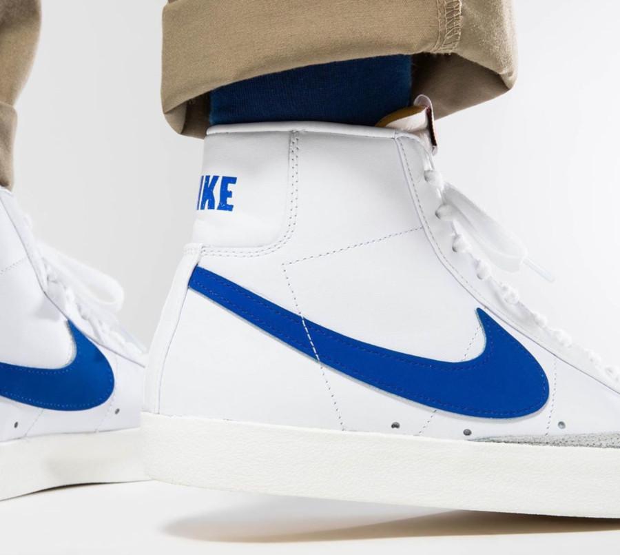 Nike Blazer Mid '77 Vintage 2020 White Racer Blue (1)