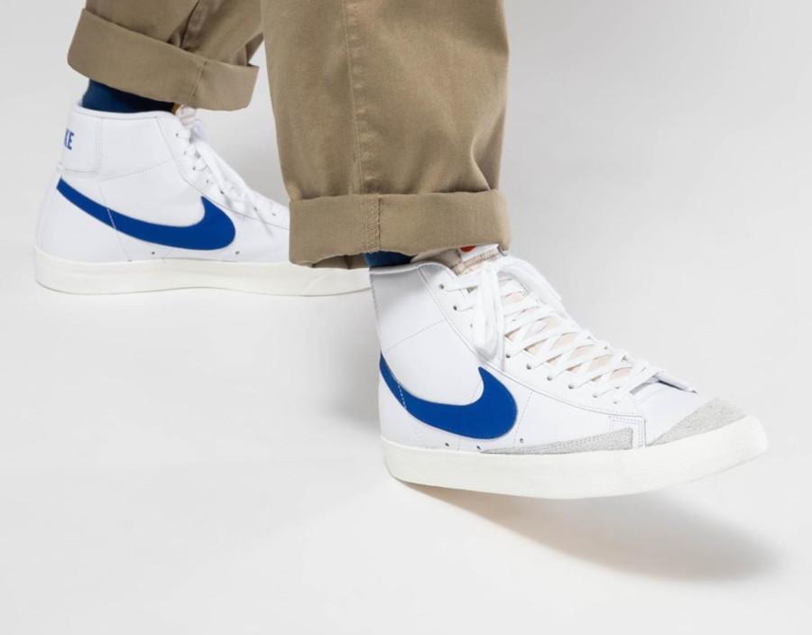 Nike Blazer Mid '77 Vintage 2020 White Racer Blue (3)