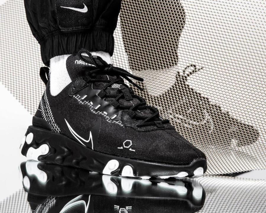 Nike React Element 55 noire Sketch to Shelf (3)