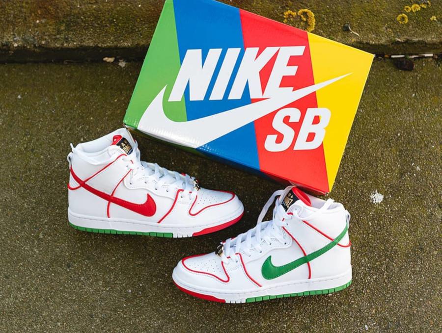 Nike SB Dunk High P-Rod Paul Rodriguez CT6680-100