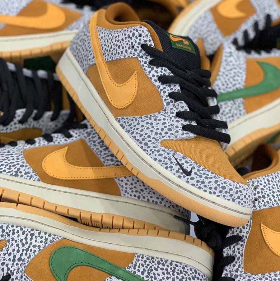 Nike SB Dunk Low Pro Atmos Safari - @dunkaholics