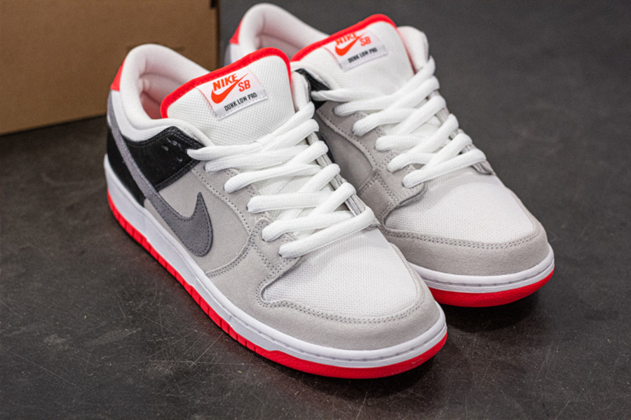 Nike SB Dunk Low Pro ISO 'Infrared' (Orange Label) (1)