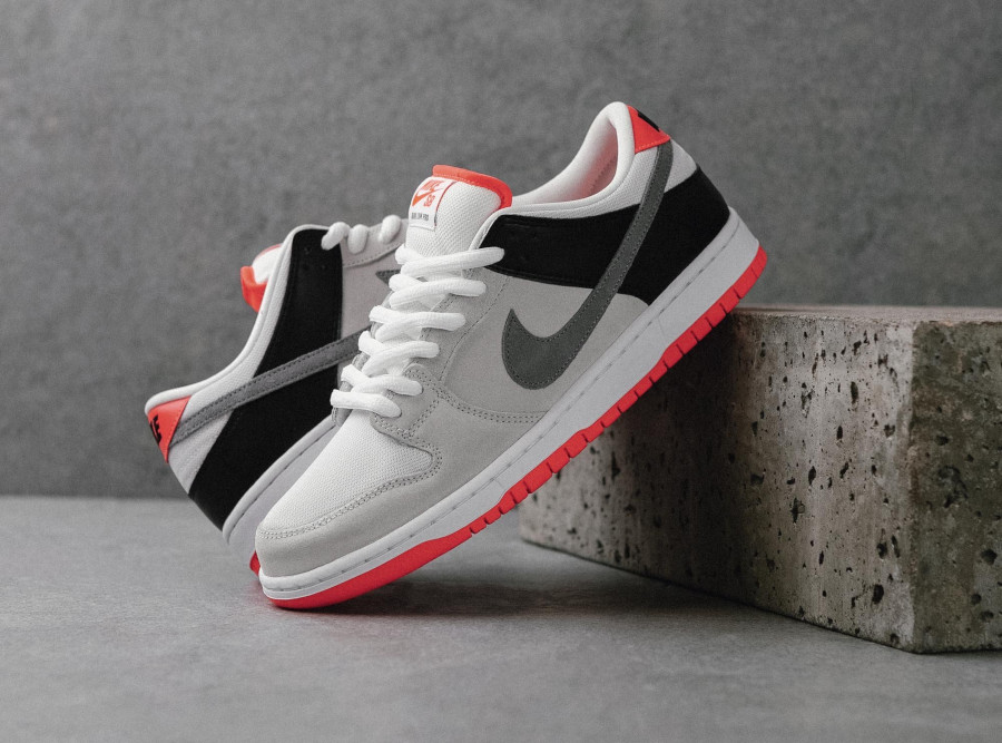 Nike SB Dunk Low Pro ISO 'Infrared' (Orange Label) (3)