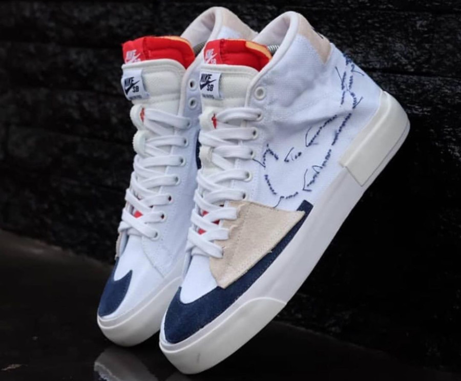 Nike SB Zoom Blazer Mid Edge 'White Midnight Navy' (Hack Pack) (5)