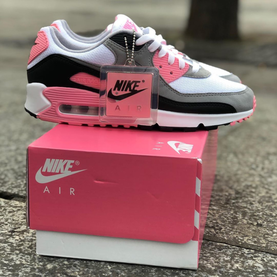 Nike Wmns Air Max 90 OG 'Pink' (30th Anniversary) (1)