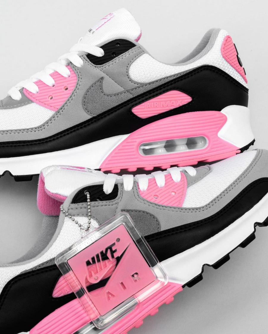 Nike Wmns Air Max 90 OG 'Pink' (30th Anniversary) (2)