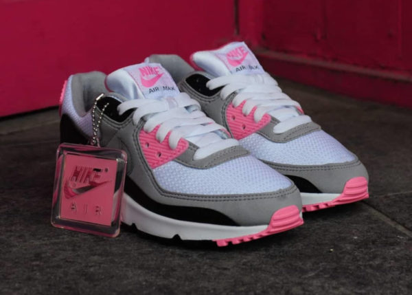Nike Wmns Air Max 90 OG 'Pink' (30th Anniversary) (7)