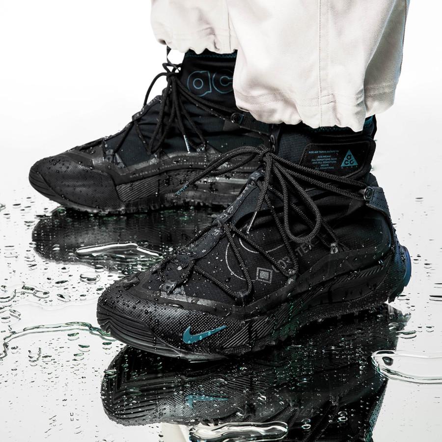 Nike Zoom Terra Antarktik ACG Gore Tex Black Midnight Turquoise (3)