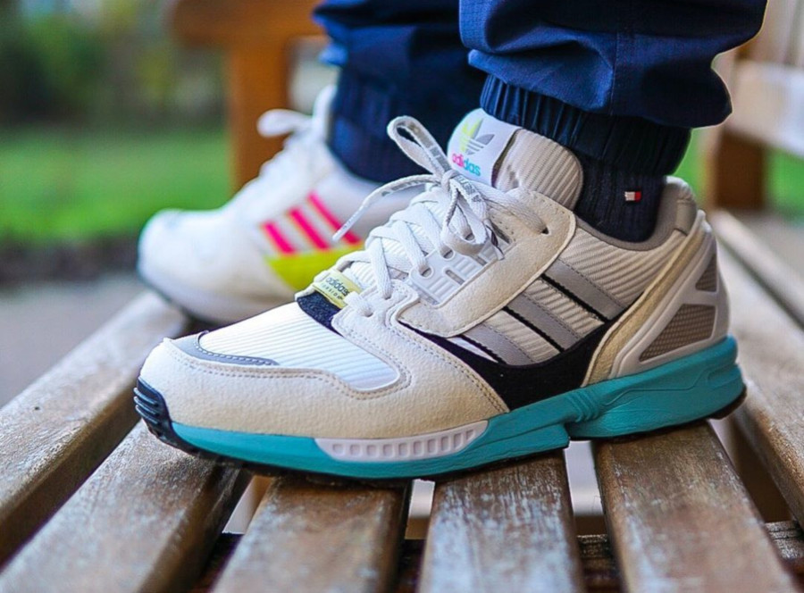 Overkill x Adidas ZX 8000 No Walls Needed A better Berlin Since 1989 - @sashlebang