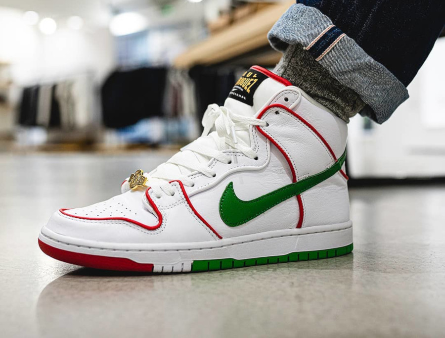 Paul Rodriguez x Nike SB Dunk High Pro 'Mexican Boxing' (2)