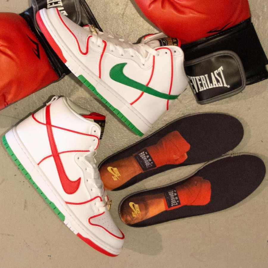 Paul Rodriguez x Nike SB Dunk High Pro 'Mexican Boxing' (3)