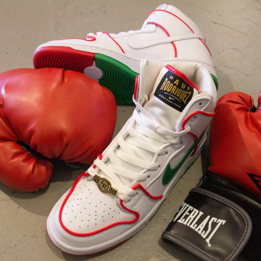 Paul Rodriguez x Nike SB Dunk High Pro 'Mexican Boxing' (4)