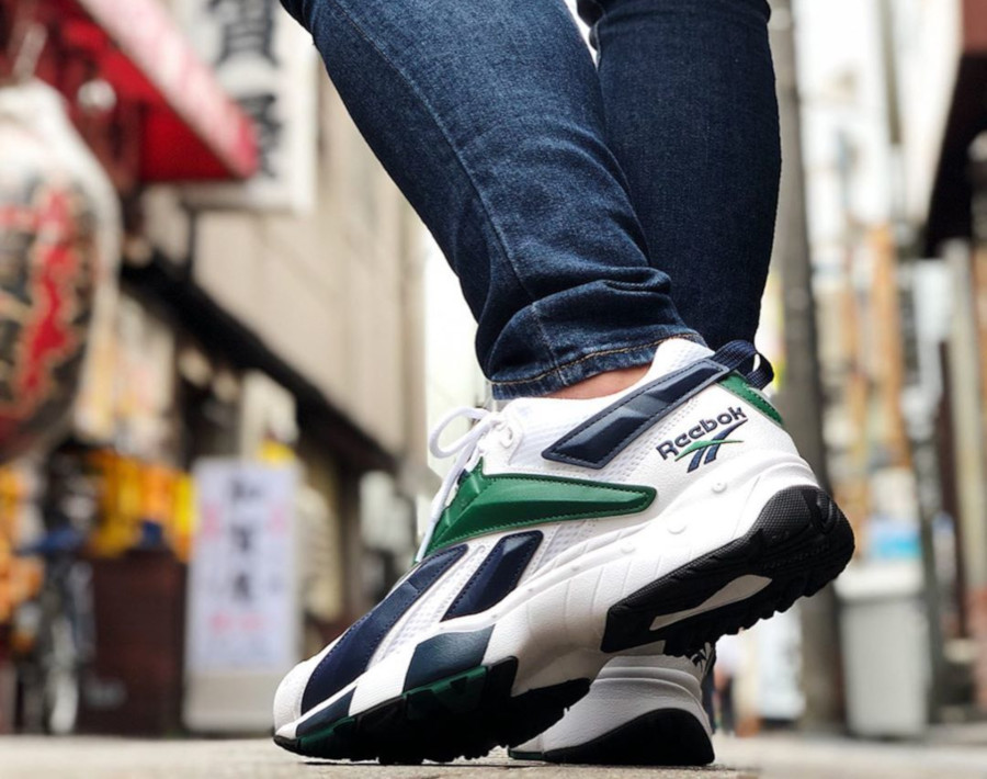 Reebok Interval 96 OG 'White Collegiate Navy & Dark Green' (1)