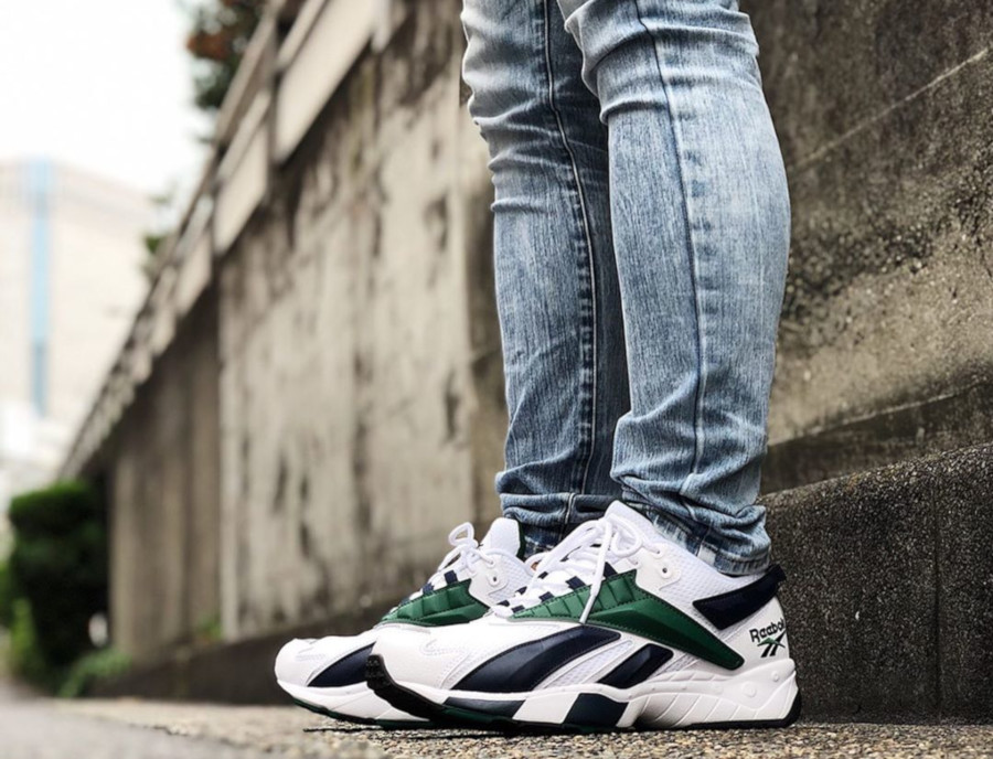 Reebok Interval 96 OG 'White Collegiate Navy & Dark Green' (3)
