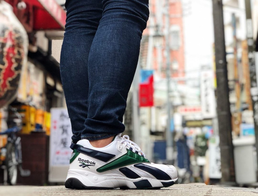 Reebok Interval 96 OG 'White Collegiate Navy & Dark Green' (4)