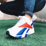 Reebok Interval 96 OG 'Gundam' White Collegiate Royal Scarlet