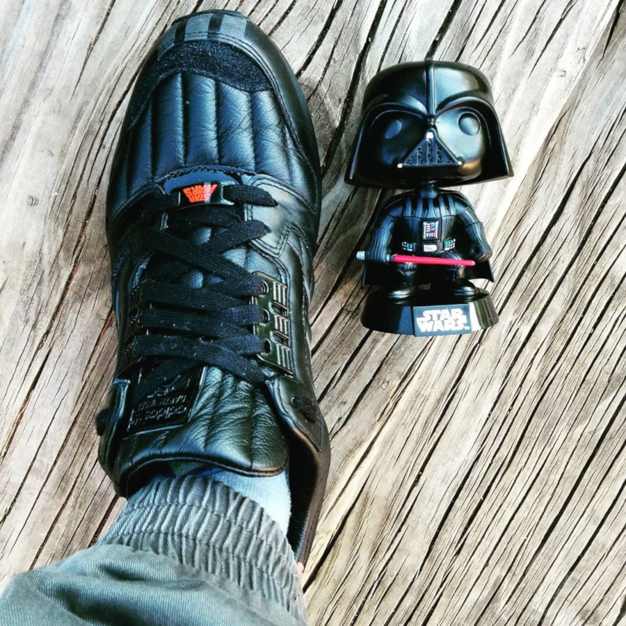 Star Wars x Adidas ZX 8000 Darth Vader - @torsion.89