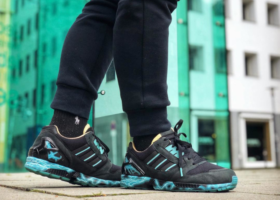 Star Wars x Adidas ZX 8000 Emperor Palpatine (glow in the dark) - @benstah23