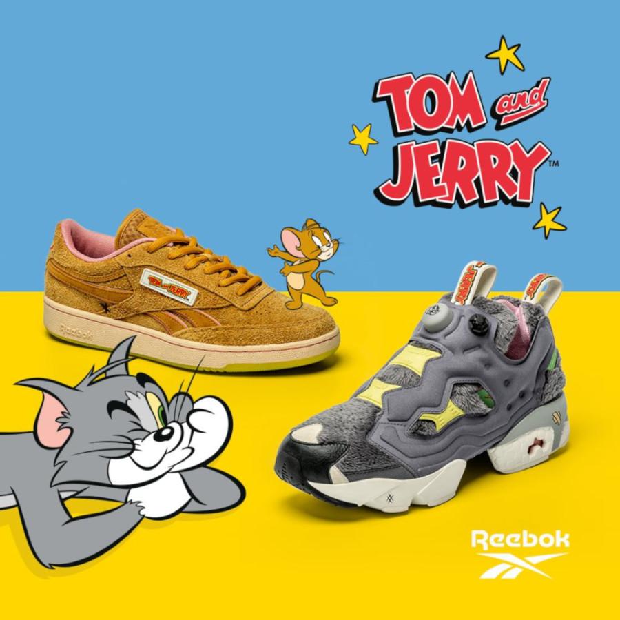 Tom & Jerry x Reebok Classics