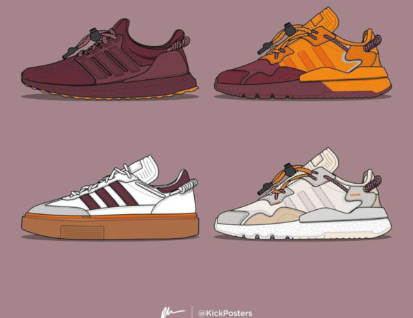 collaboration Béyoncé x Adidas Ivy Park drop 1 (janvier 2020)
