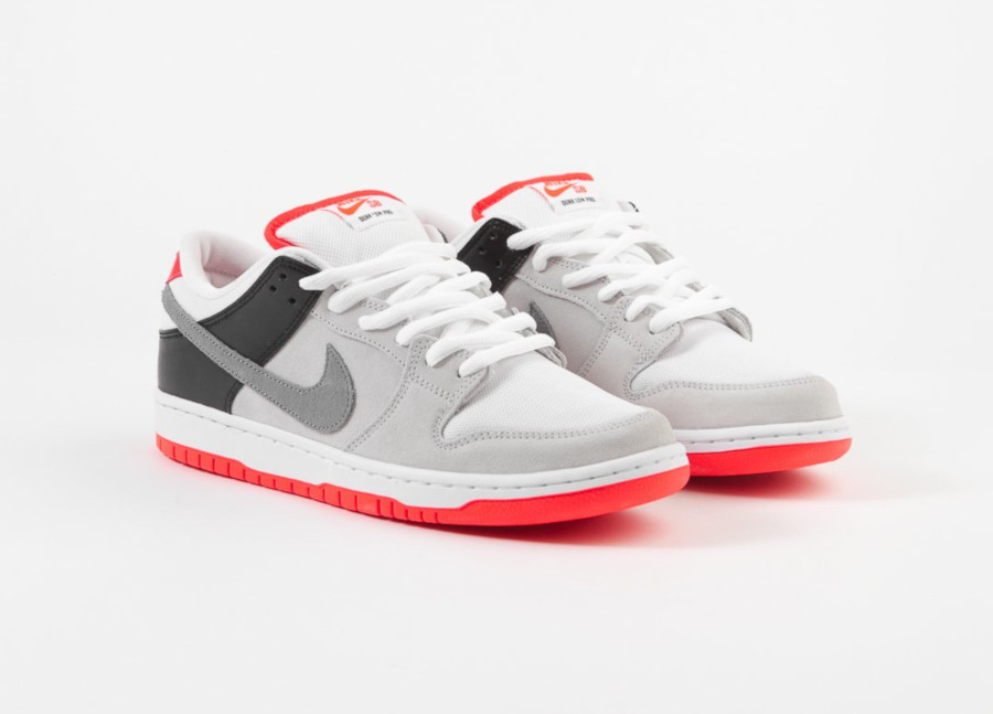 sortie Nike SB Dunk Low Pro Infrared