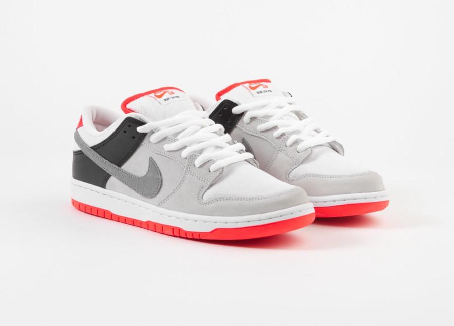 sortie Nike SB Dunk Low Pro Infrared