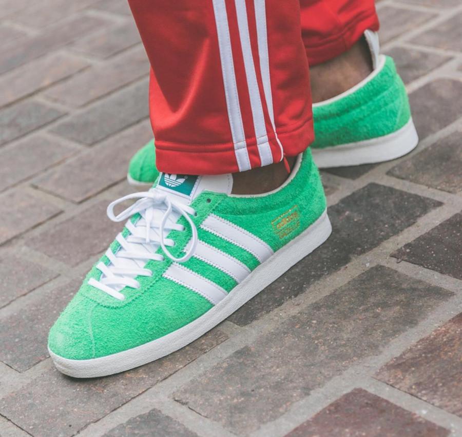 Adidas Gazelle Vintage 2020 Semi Flash Green EF5577