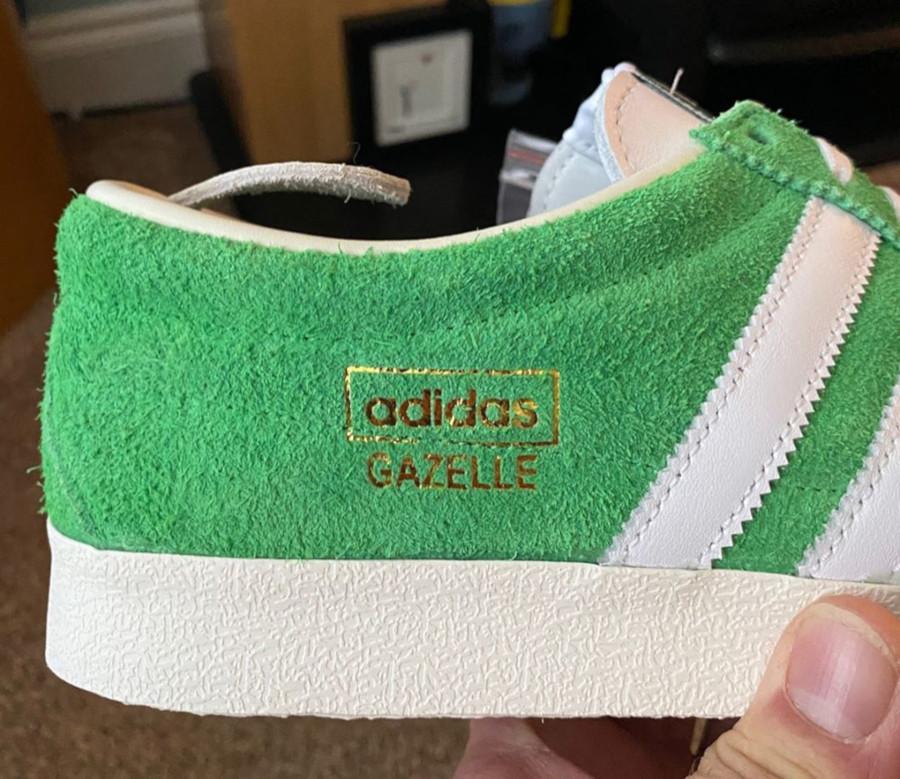 Adidas Gazelle Vintage Suede Semi Flash Green (2)
