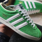 Adidas Gazelle Vintage 'Semi Flash Green'