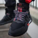 Adidas Nite Jogger Reflective 'Core Black Silver Metallic'