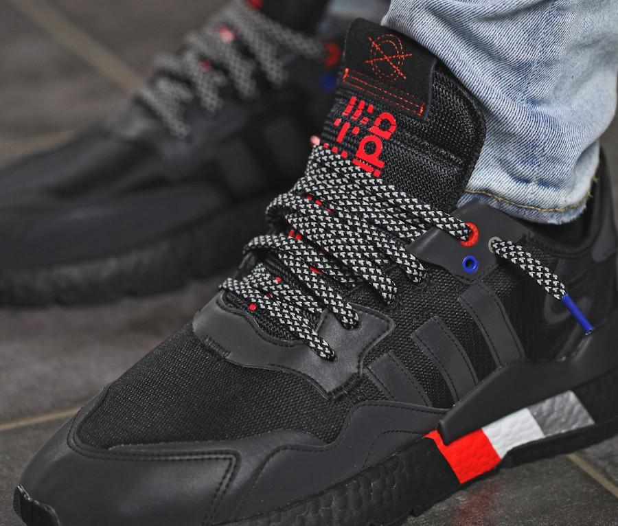Adidas Nite Jogger réfléchissante noire 2020 (1)