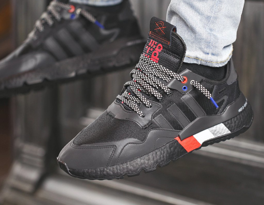 Adidas Nite Jogger réfléchissante noire 2020 (2)