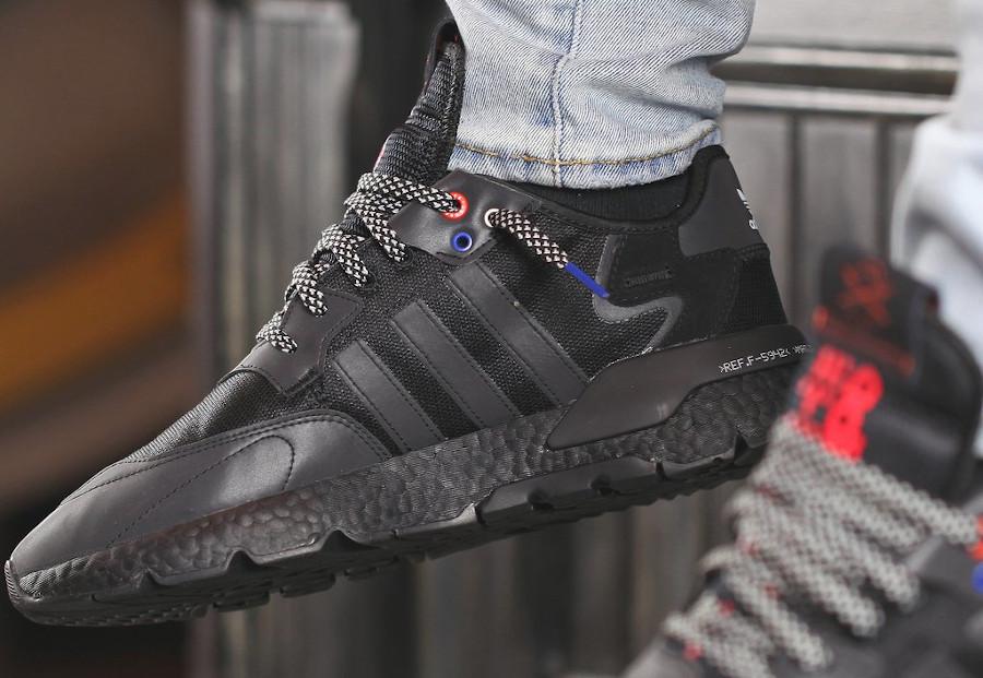 Adidas Nite Jogger réfléchissante noire 2020 (3)