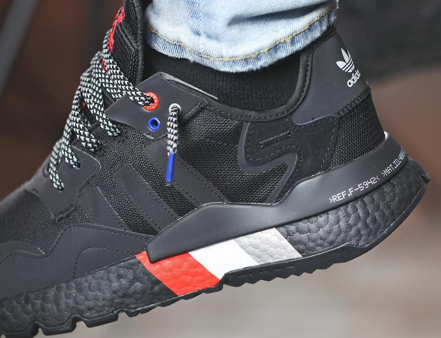 Adidas Nite Jogger réfléchissante noire 2020 (4)