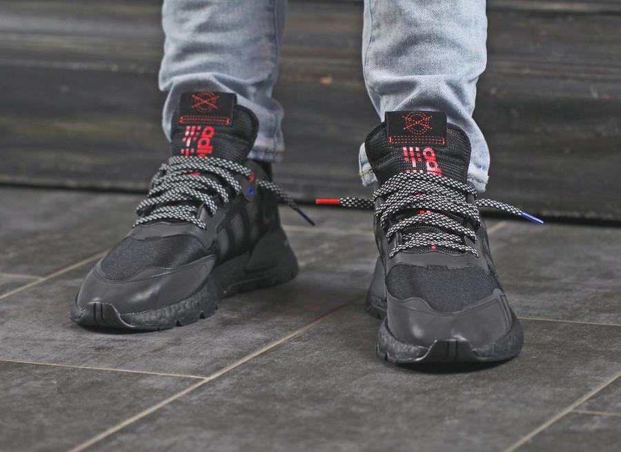 Adidas Nite Jogger réfléchissante noire 2020 (5)