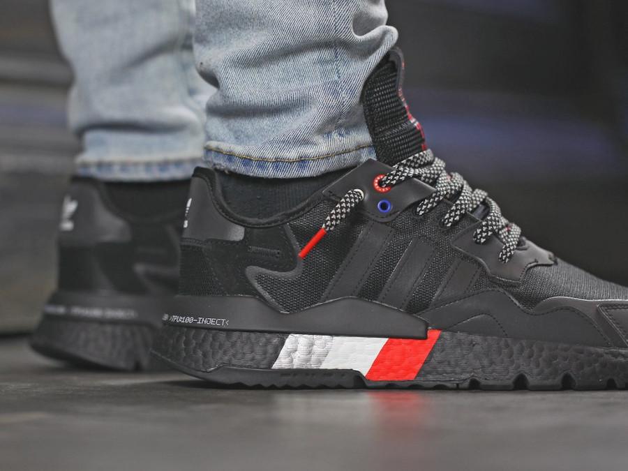 Adidas Nite Jogger réfléchissante noire 2020 (6)