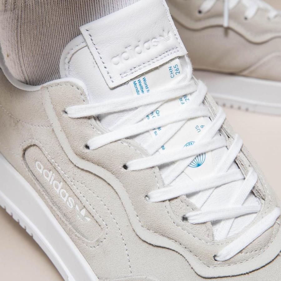 Adidas SC Premiere Suede 'Cloud White' (1)