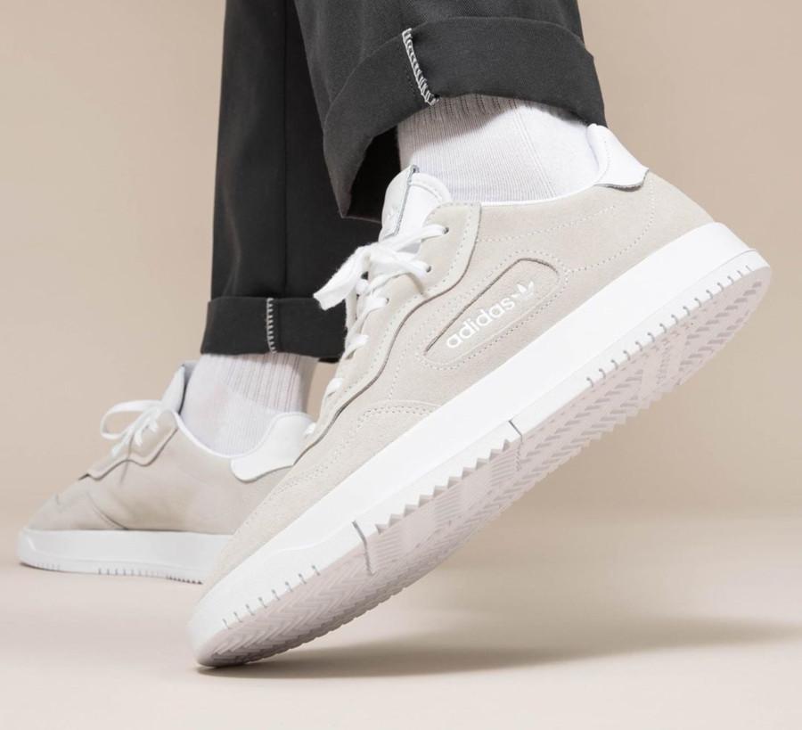 Adidas SC Premiere Suede 'Cloud White' (2)
