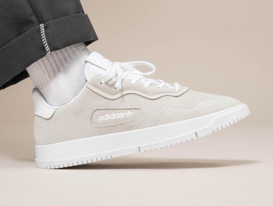 Adidas SC Premiere Suede 'Cloud White' (3)