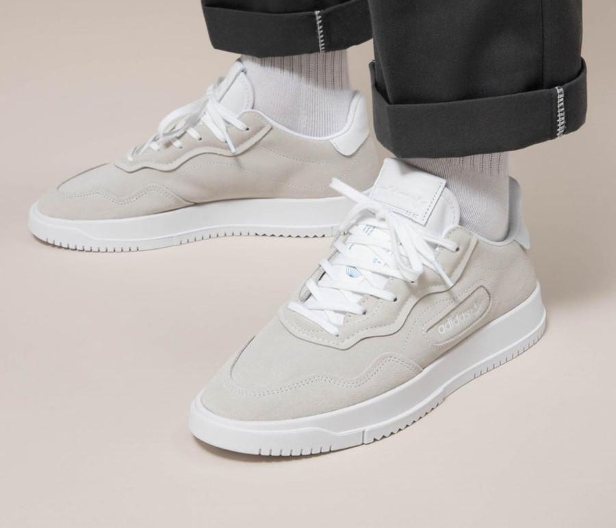 Adidas SC Premiere Suede 'Cloud White' (4)