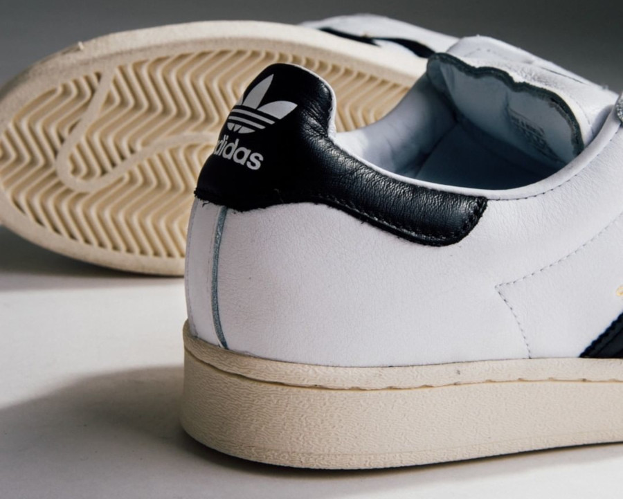 Adidas Superstar Laceless 'No Hassle' Cloud White Core Black (1)