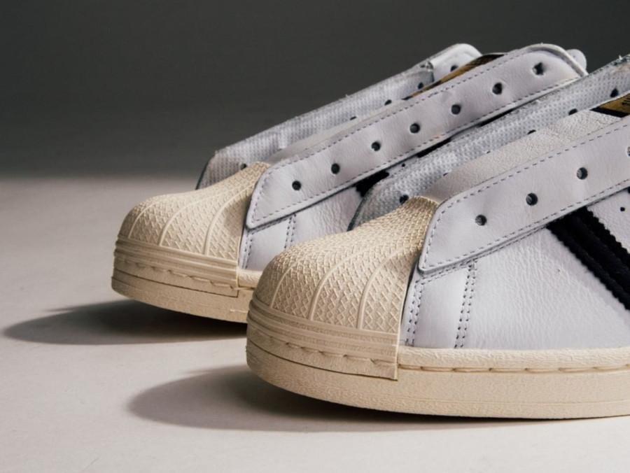 Adidas Superstar Laceless 'No Hassle' Cloud White Core Black (3)