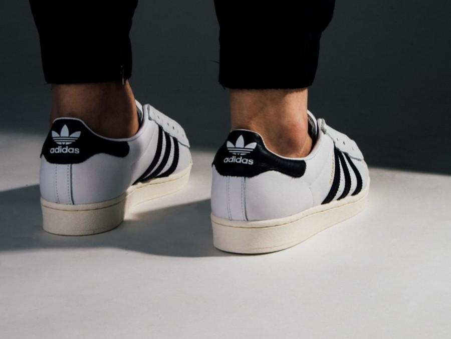 Adidas Superstar Laceless 'No Hassle' Cloud White Core Black (6-1)