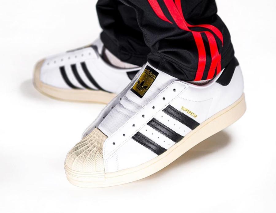 Adidas Superstar Laceless Slip On Run DMC FV3017